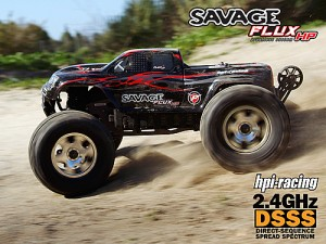 RTR SAVAGE FLUX HP,2.4GHz(EU)